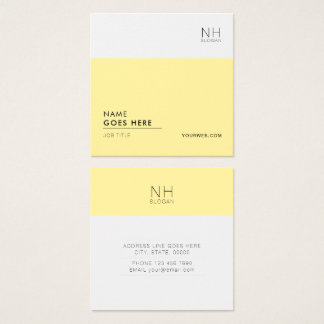 Modern Clean Multipurpose Square Business Card