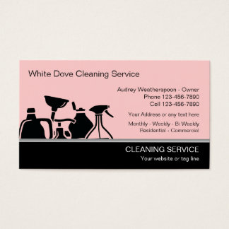 Cleaning Services Business Cards & Templates | Zazzle
