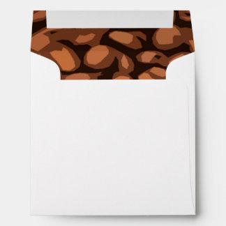 Modern Coffee Bean Envelope