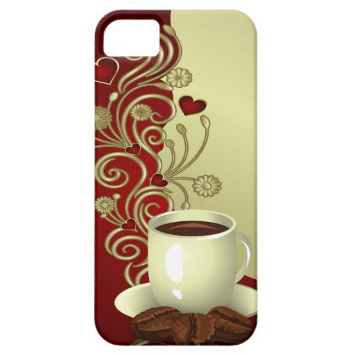 Modern Coffee Lover iPhone 5 Covers