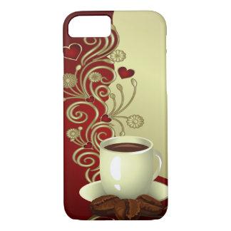 Modern Coffee Lover iPhone 7 Case