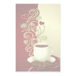 Modern Coffee Lover Stationery