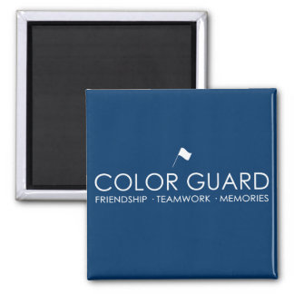 Modern Color Guard Magnets