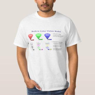 Modern Color Vision Model Diagram T-Shirt