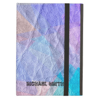 Modern Colored Leather #11 Cover For iPad Air