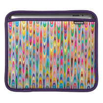 Modern Colorful Abstract Pattern Sleeve For iPads