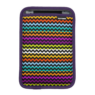 Modern Colorful Chevron Zigzag Pattern Sleeve For iPad Mini