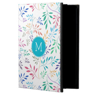 Modern Colorful Delicate Abstract Leafs Pattern Powis iPad Air 2 Case
