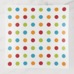 Modern Colorful Dots Trinket Tray Gift