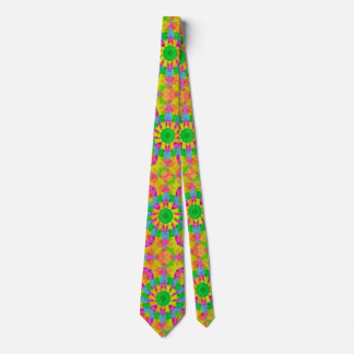 Modern Colorful Geometric Neck Tie