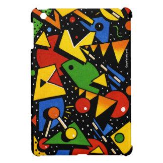 Modern Colorful Geometric Pattern iPad Mini Cover