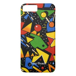 Modern Colorful Geometric Pattern iPhone 8 Plus/7 Plus Case
