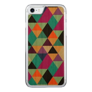 Modern Colorful Geometric Triangles Pattern 3