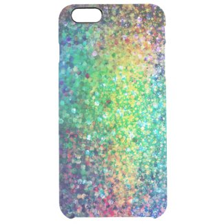 Modern Colorful Glitter Texture Print