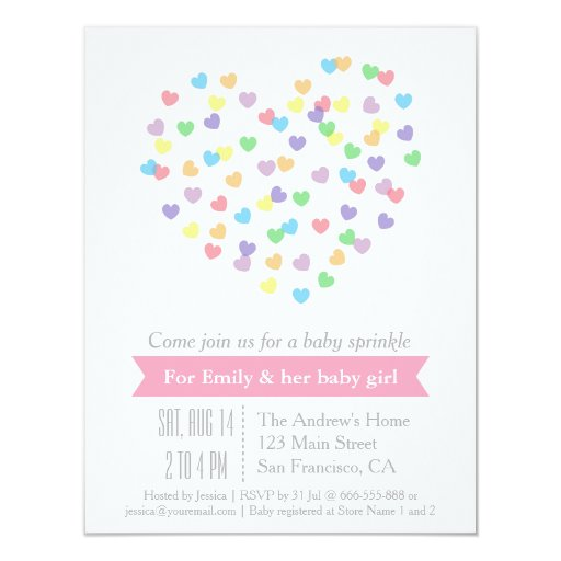 Sprinkle Shower Invitation with awesome invitations ideas