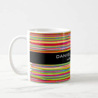 Modern Colorful Interior Designer Branding Coffee Mug