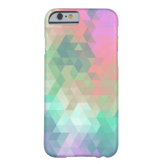 Modern Colorful Mosaic Abstract Barely There iPhone 6 Case