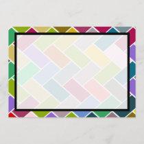 Modern Colorful Mosaic Wedding