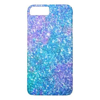 Modern Colorful Trendy Glitter Print iPhone 7 Plus Case