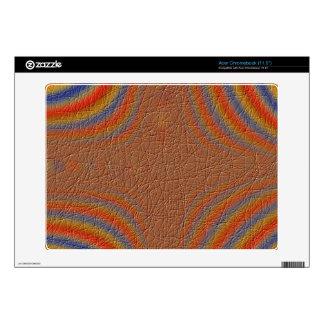 Modern colorful trendy pattern skin for acer chromebook