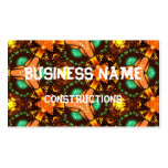 Modern colorful unique pattern business card templates