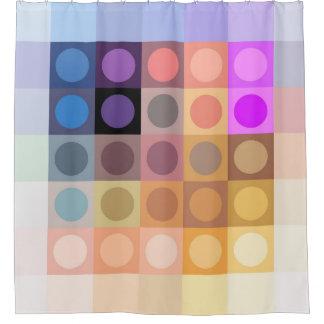 Modern Colors Geometric Design. Shower Curtain