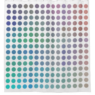 Modern Colors Spot Design. Shower Curtain