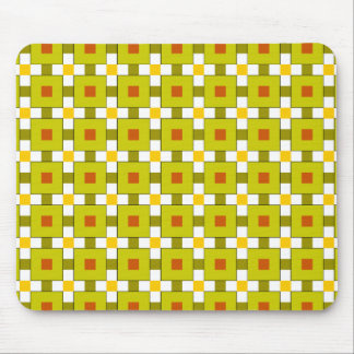 Modern Colourful Squares Pattern Mouse Pad