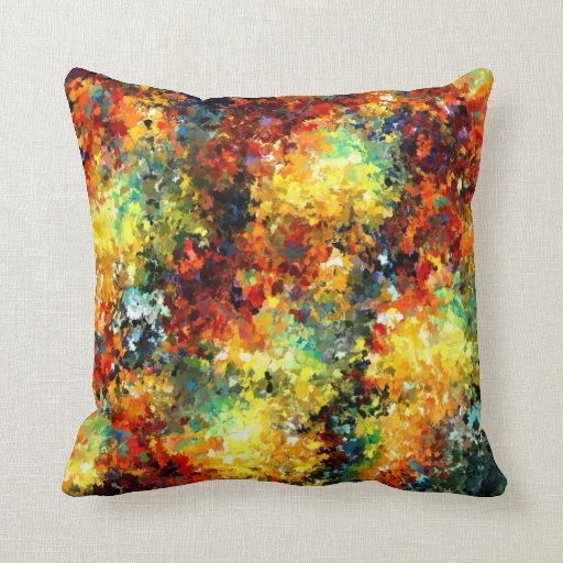 Modern composition 02 by rafi talby throw pillows