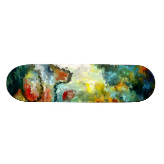 Modern composition 04 by rafi talby skateboard