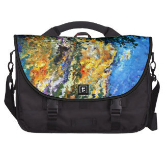 Modern composition 08 by rafi talby laptop bag