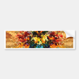 Modern composition 10 bumper sticker