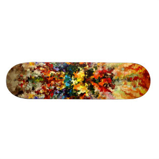 Modern composition 10 by rafi talby skateboard