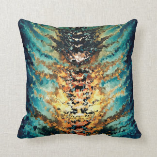 Modern composition 15 by rafi talby pillow