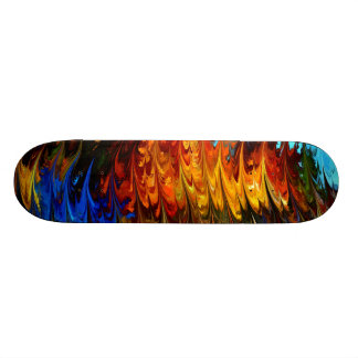 Modern composition 18 by rafi talby skateboard deck