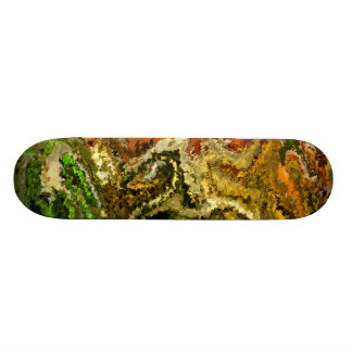 Modern composition 20 by rafi talby skateboard deck