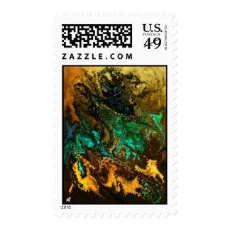 Modern composition 21 postage
