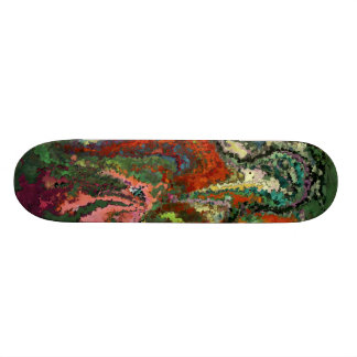 Modern composition 22 by rafi talby skateboard deck