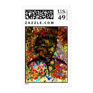 Modern composition 25 postage