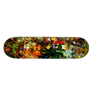 Modern composition 27 by rafi talby skateboard deck