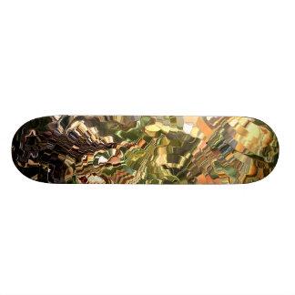 Modern composition 28 by rafi talby skateboard deck