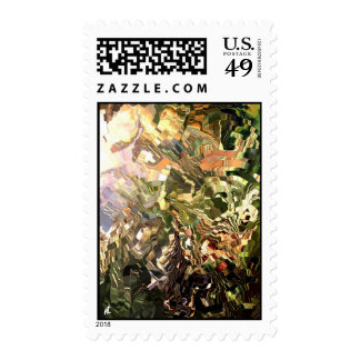 Modern composition 28 postage