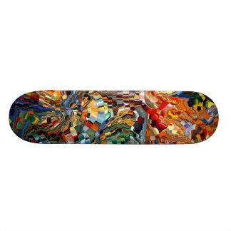 Modern composition 29 by rafi talby skateboard