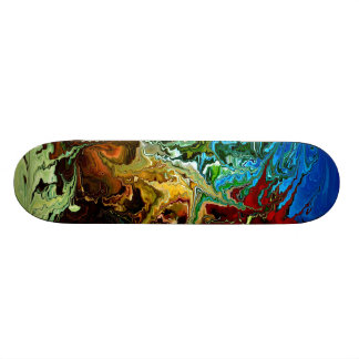 Modern composition 30 by rafi talby skateboard deck