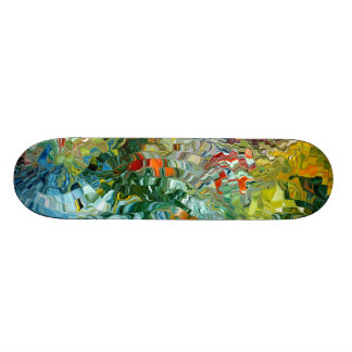Modern composition 31 by rafi talby skateboard deck