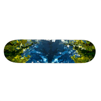 Modern composition 35 by rafi talby skateboard deck