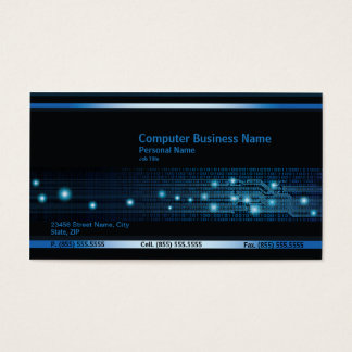Modern Computer Business Business Card