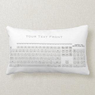 Modern Computer Keyboard American MoJo Pillow