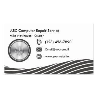Modern Computer Technology Business Card
