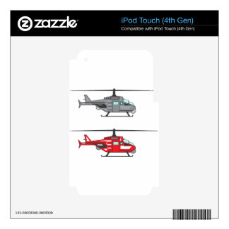 Modern Concept Helicopter iPod Touch 4G Skin